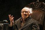 Юрий Померанцев в спектакле Однажды в Глостере, архивное фото