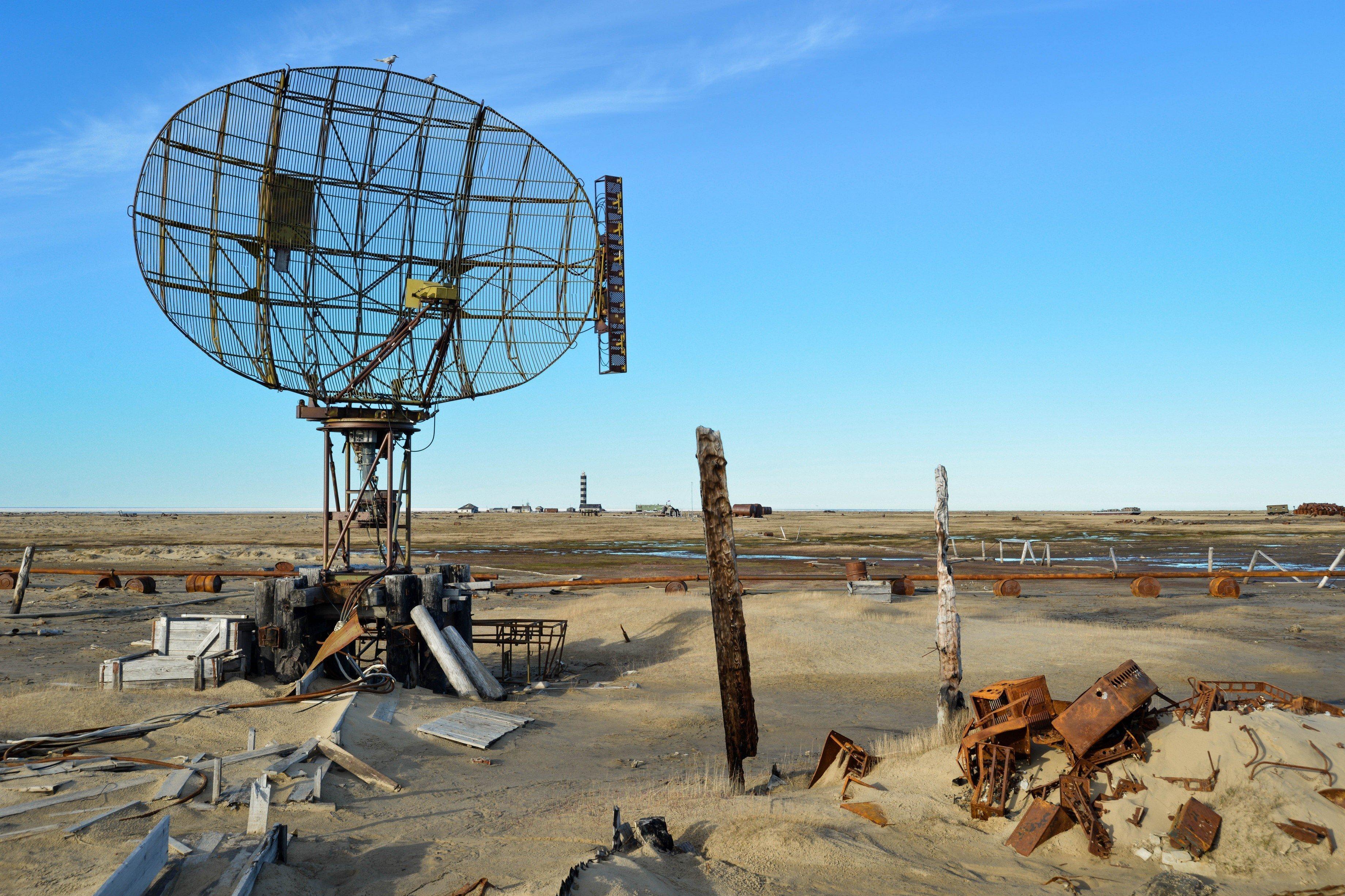 Самые загрязненные острова на Ямале - Белый и Вилькицкого