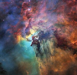 Туманность Лагуна, снятая телескопом Хаббл