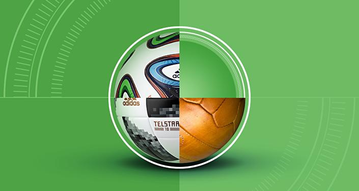 История мячей чемпионатов мира по футболу
