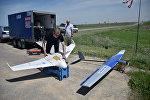 Казпочта продемонстрировала работу дронов по доставке газет Аскару Жумагалиеву