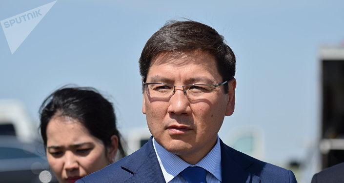 Аскар Жумагалиев - заместитель премьер-министра, министр оборонной и аэрокосмической промышленности