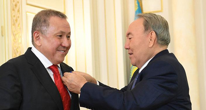 Нурсултан Назарбаев встретился с президентом группы компаний «Astana Group» Нурланом Смагуловым