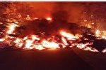Извержение вулкана на Гавайях уничтожило десятки домов
