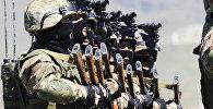 Военные, архивное фото