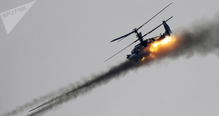 Ка-52 тікұшағы
