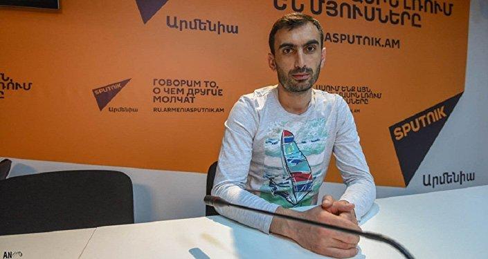 Корреспондент агентства Sputnik Армения Ашот Сафарян