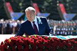 Нурсултан Назарбаев возложил цветы к Мемориалу Славы