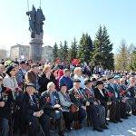 Бессмертный полк в Петропавловске