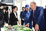 Президент Казахстана Нурсултан Назарбаев приехал в Алматинскую область с рабочим визитом