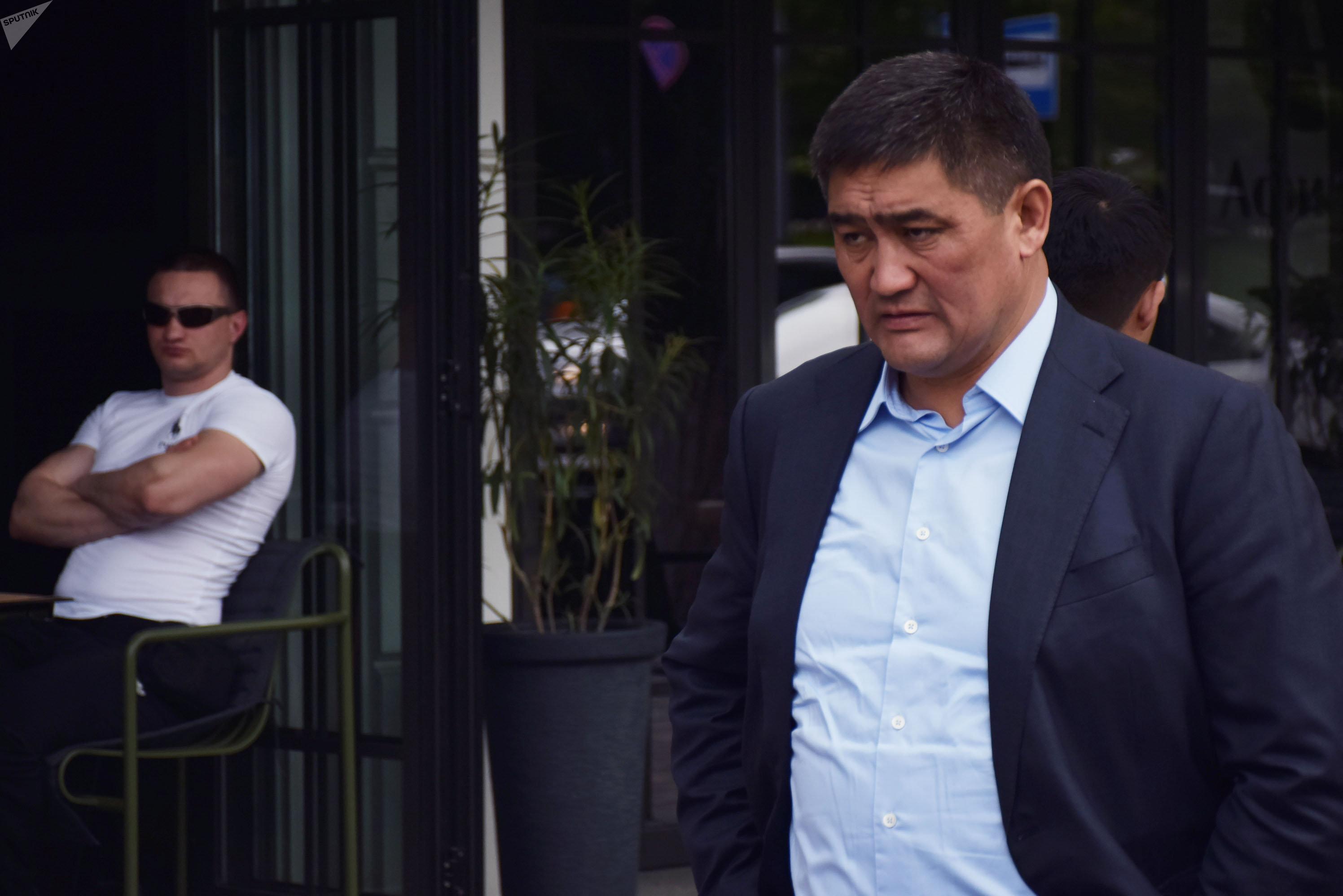 Серик Кудебаев, начальник ДВД Алматы