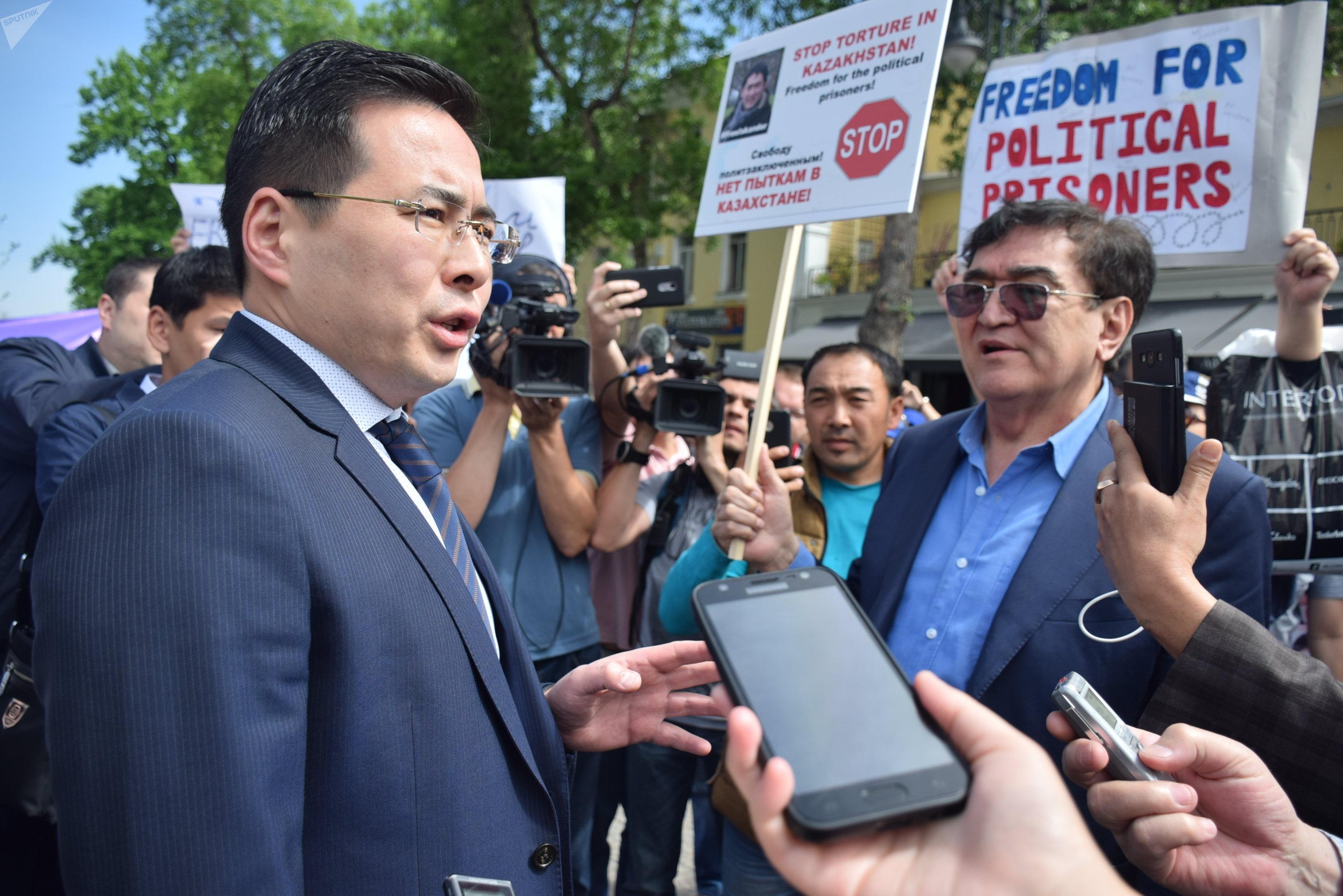 Елдос Килымжанов, прокурор Алмалинского района Алматы