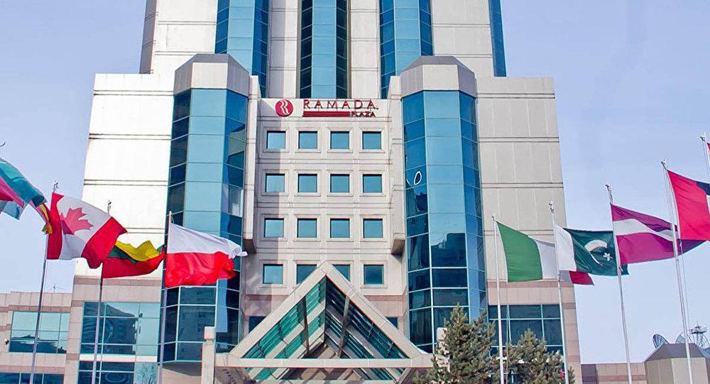 Отель Ramada plaza в Астане, архивное фото