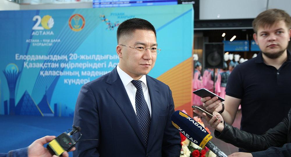 Руководитель столичного Управления культуры и спорта Болат Мажагулов