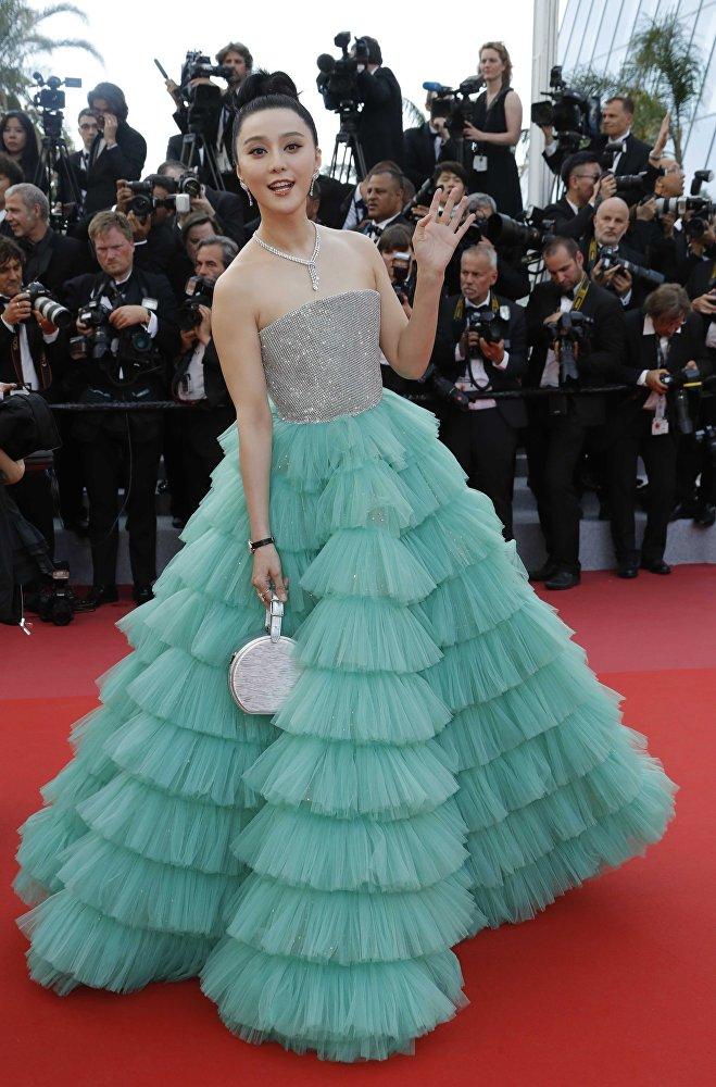 Китайская актриса Фан Бинбин