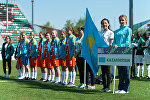 Казахстанская команда на чемпионате мира по футболу среди детей-сирот Будущее зависит от тебя