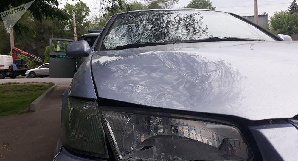 Тойота сбила женщину в Алматы