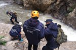 Спасательная операция в ущелье Южного Казахстана