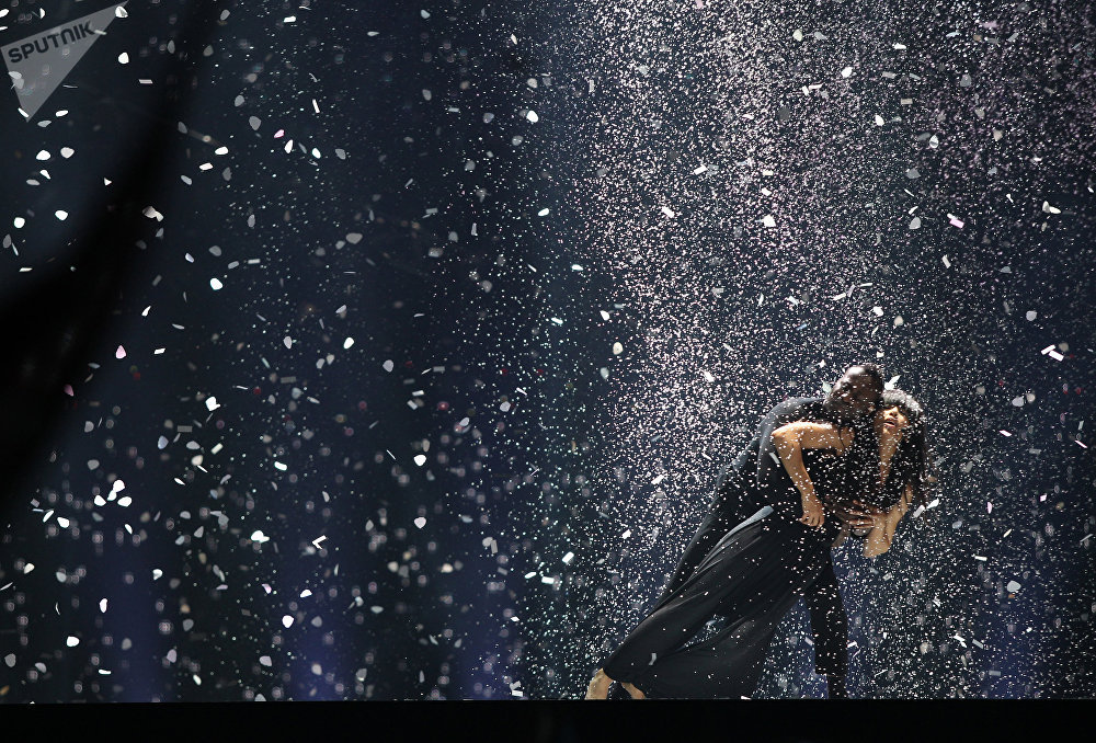 Победительница конкурса Евровидение-2012 - певица из Швеции Лорин