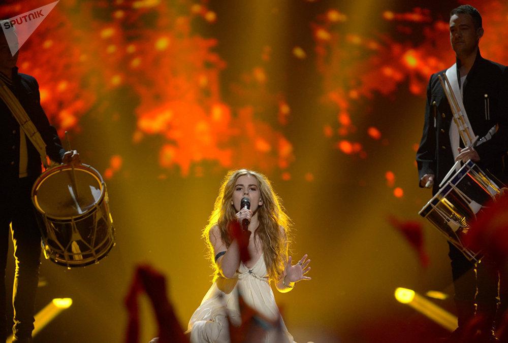 Победительница конкурса Евровидение-2013 из Дании Эммили де Форест