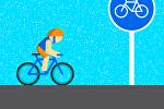 Правила для велосипедистов