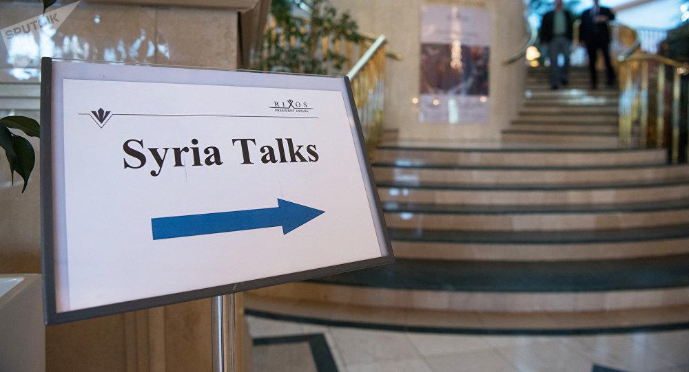 Сирийские переговоры