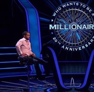 Гаррет Кендалл принимает участие в игре Кто хочет стать миллионером