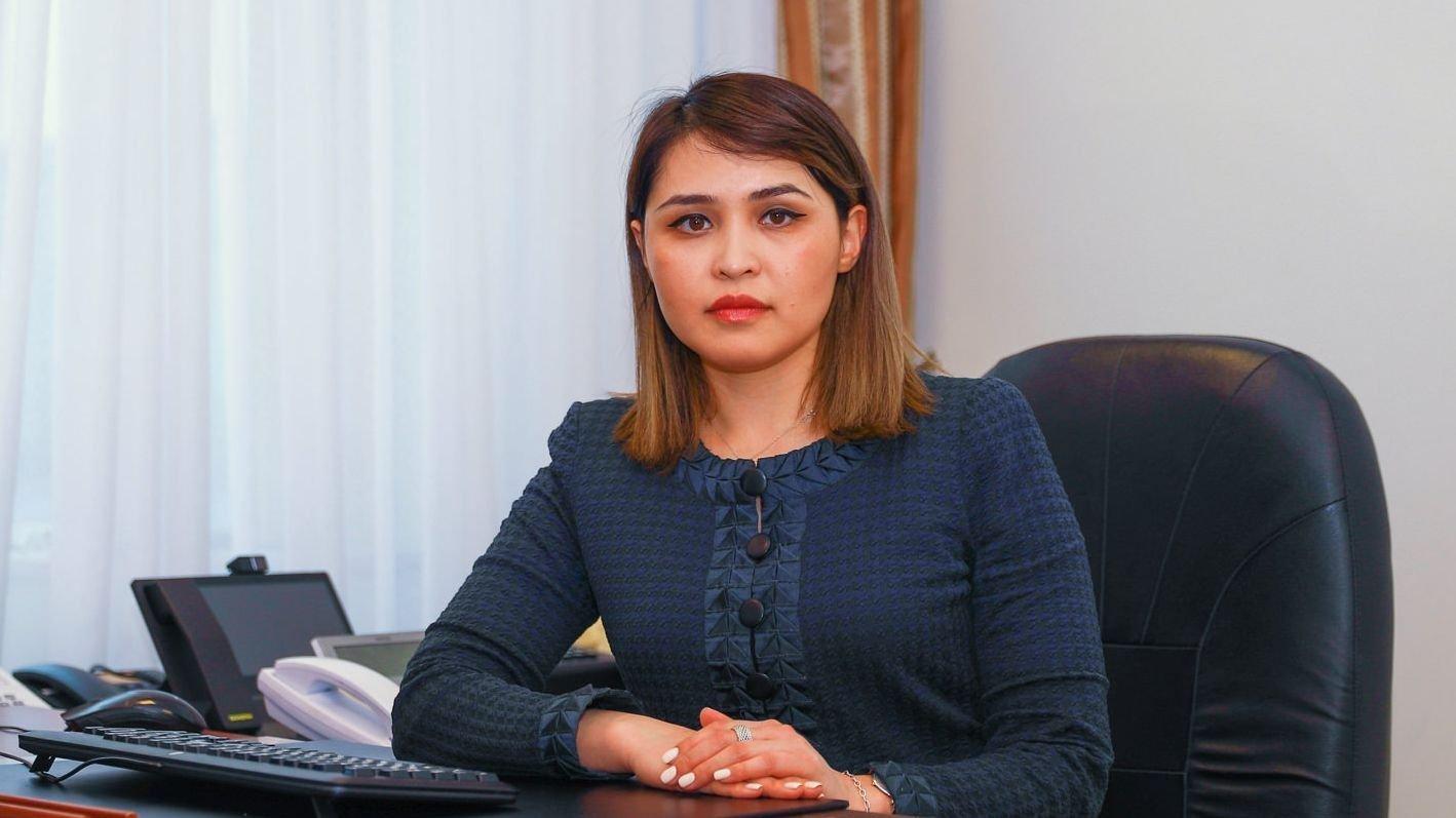 Вице-министр национальной экономики РК Мадина Жунусбекова