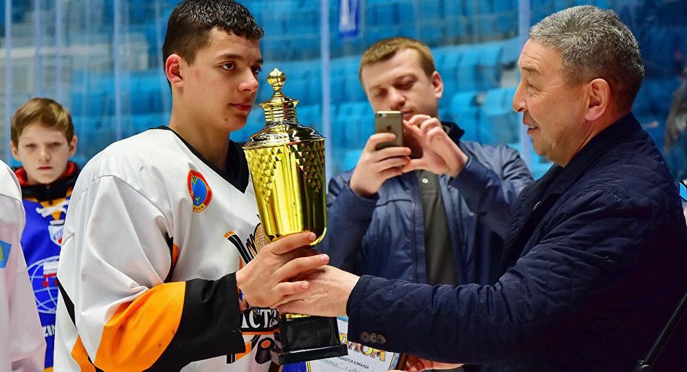 Воспитанник ХК Астана Владислав Сайко