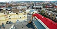 В Кемерово приступили к сносу ТЦ Зимняя вишня