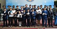 Калмуханбет Касымов наградил 20 детей-героев, совершивших мужественные поступки при различных чрезвычайных ситуациях