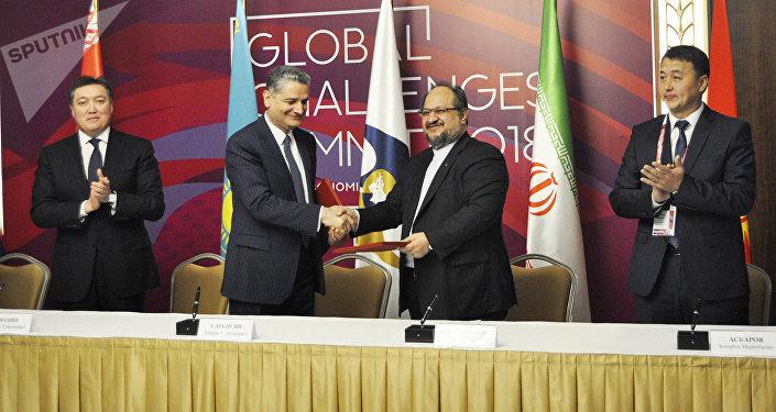 Подписание соглашения о создании зоны свободной торговли между ЕАЭС и Ираном