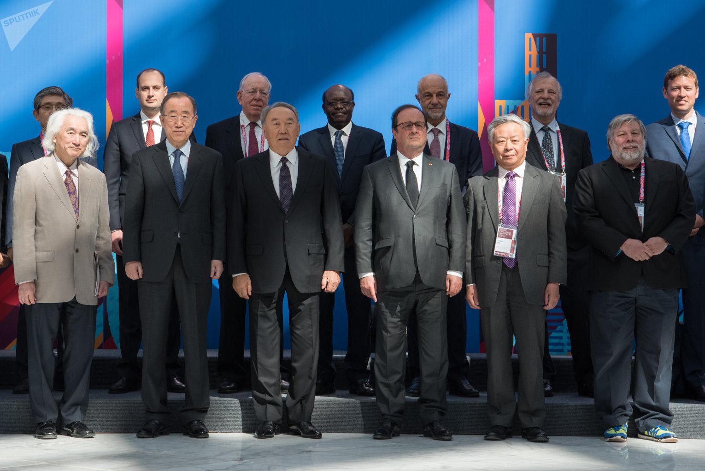 Совместное фото участников и спикеров АЭФ-2018