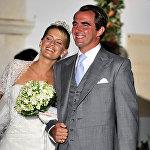 Татьяна Блатник и Николя, второй сын бывшего короля Константина Греции