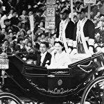 Свадьба наследного принца Акихито и Сёда Мичико