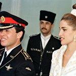Иорданский наследный принц Абдулла II и его жена Рания