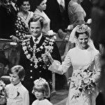 Свадебная церемония короля Швеции Карла XVI Густава с мисс Сильвией Зоммерлат