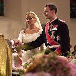 Бракосочетание норвежского наследного принца Хаакона и Метте-Марита Тесесема Хойби