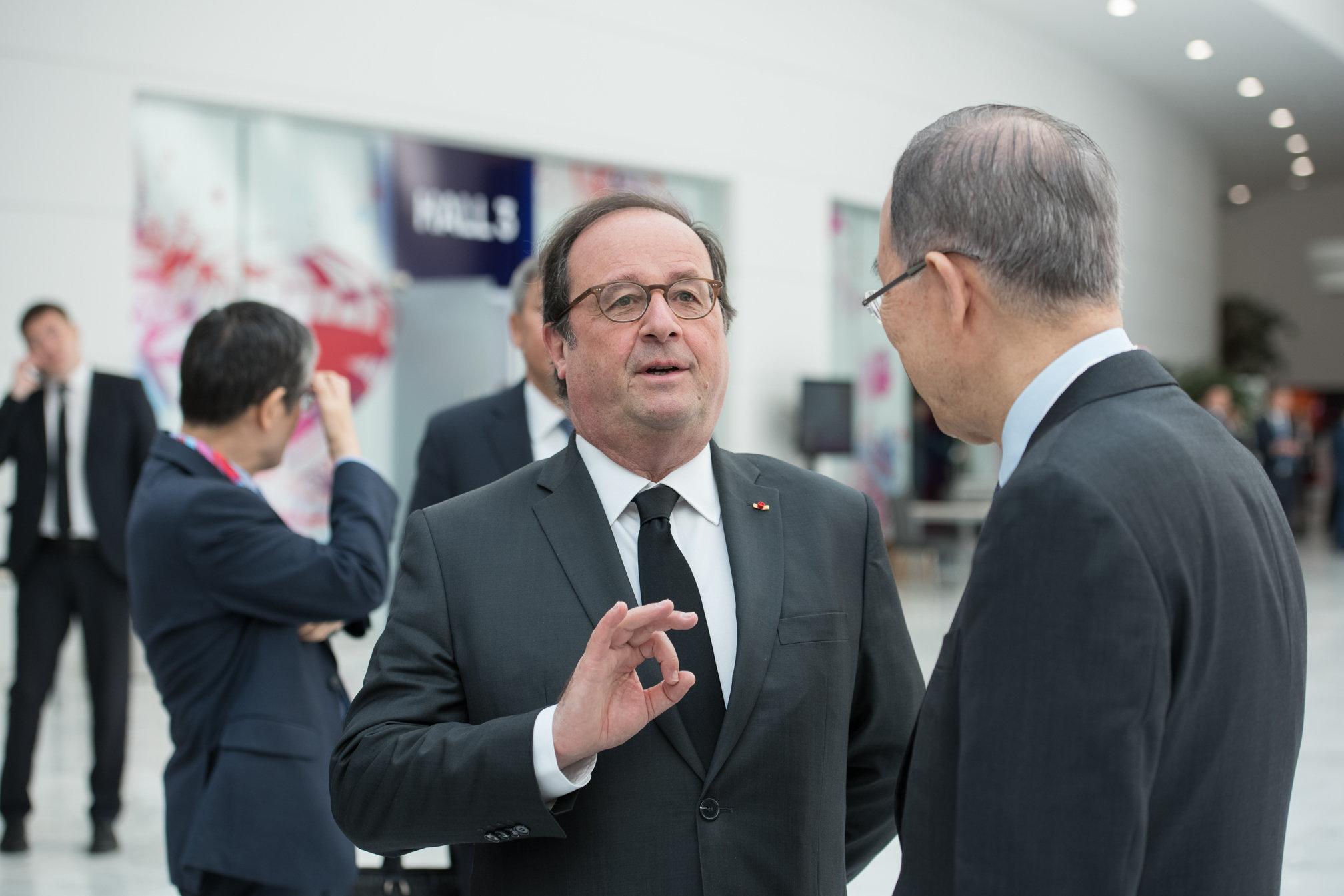 Экс-президент Франции Франсуа Олланд
