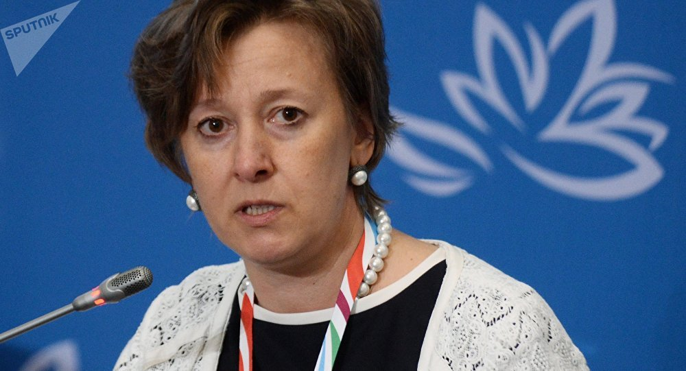 Министр по торговле Евразийской экономической комиссии Вероника Никишина