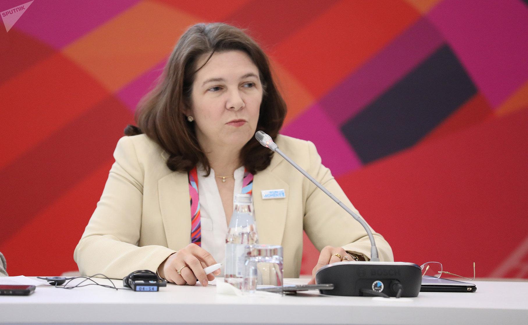 Представитель ООН-женщины Илейн Конкиевич