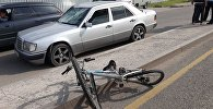Велосипедиста сбили на ул. Суюнбая