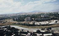 Вид на город Душанбе, архивное фото