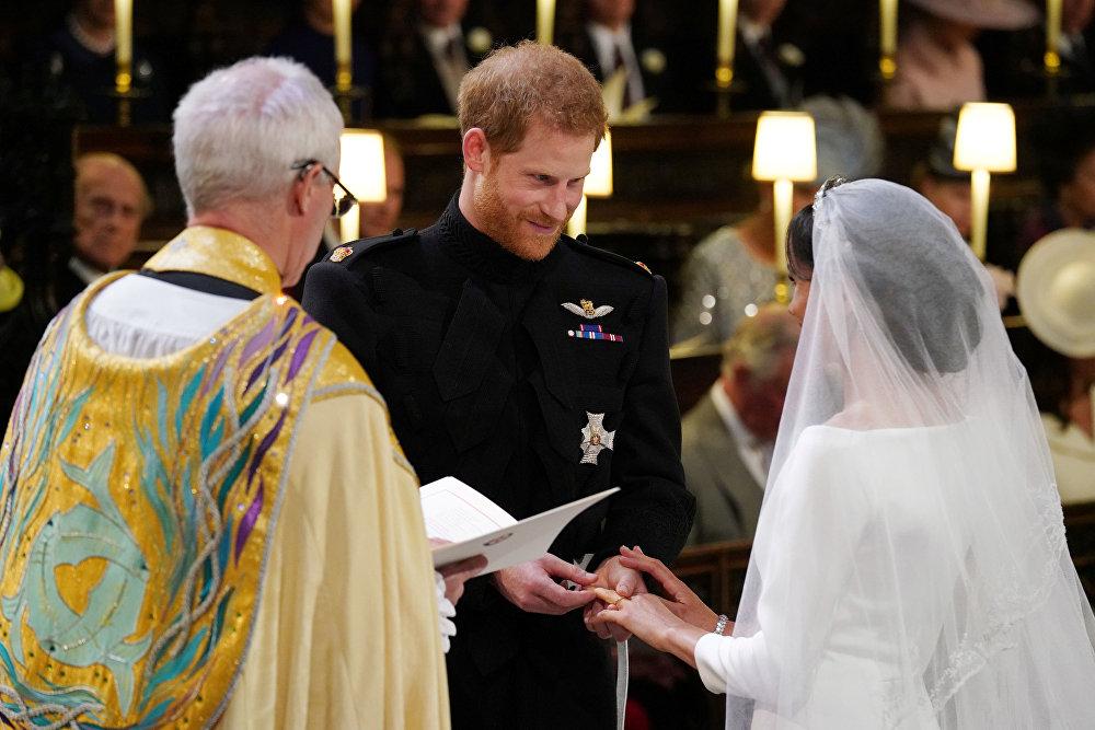 Королевская свадьба - принц Гарри и Меган Маркл - герцог и герцогиня Сассекские