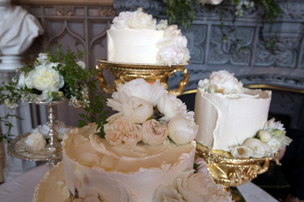 Свадебный торт. Королевская свадьба - принц Гарри и Меган Маркл - герцог и герцогиня Сассекские