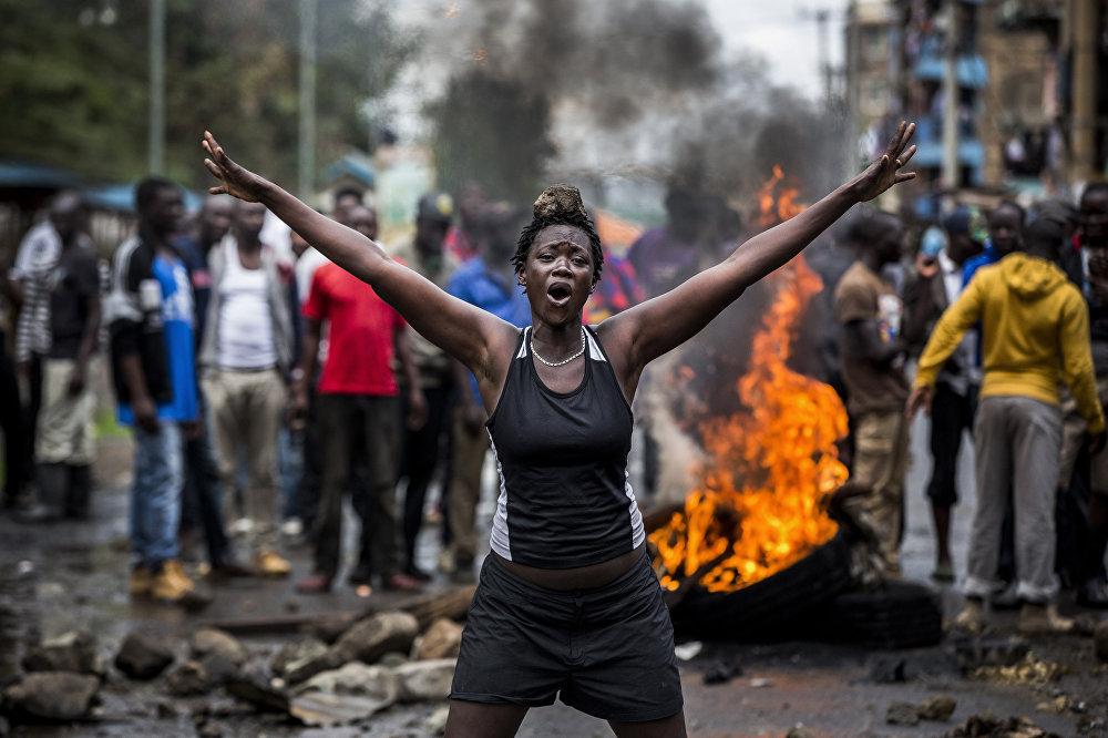 Луис Тато, Испания. Снимок Беспорядки в Кении после выборов. Категории Главные новости, серии