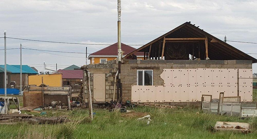 27fa0eca8b08 Как пострадал пригород Астаны после урагана – фото с места ЧП
