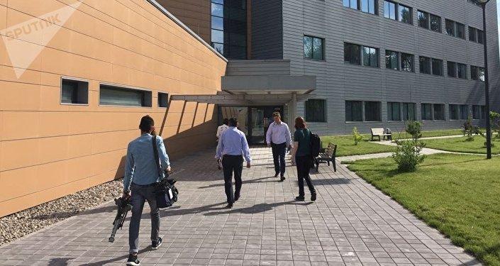 Здание центральной референтной лаборатории снаружи