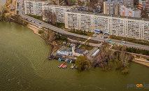 Набережная реки Усолка в Павлодаре