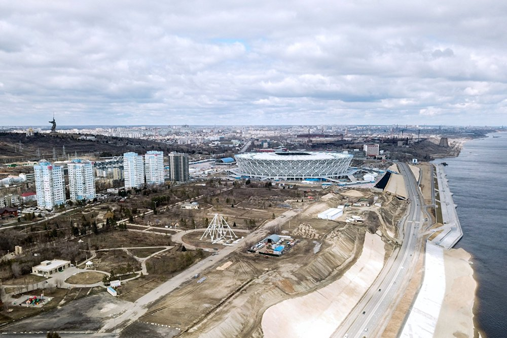 Стадион Волгоград Арена в Волгограде